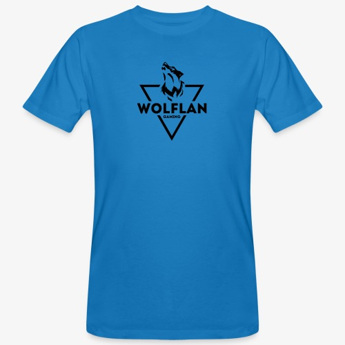 WolfLAN Gaming Logo Black - Men's Organic T-Shirt