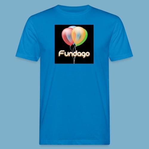 Fundago Ballon - Männer Bio-T-Shirt