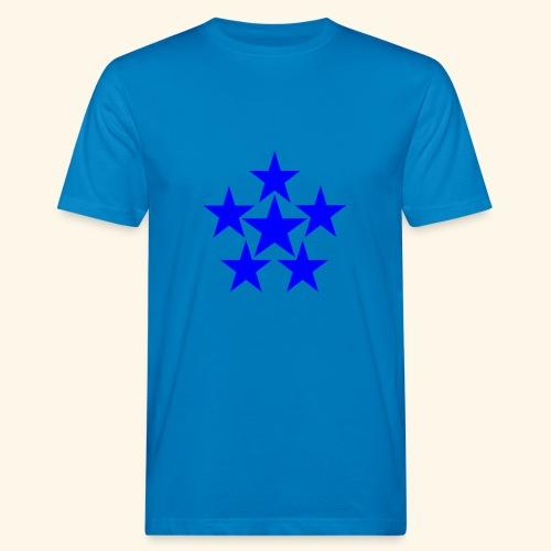 5 STAR blau - Männer Bio-T-Shirt