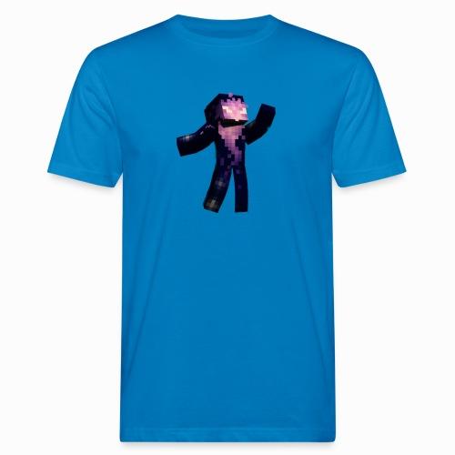 Skin Rising Pose with Shaykh Gaming on Back - Men's Organic T-Shirt