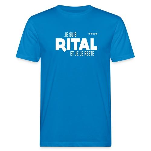 Je suis Rital Blanc - T-shirt bio Homme