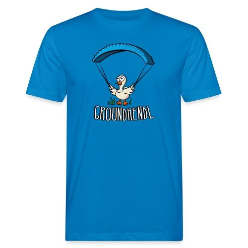 Groundhendl Groundhandling Hendl Paragliding Huhn - Männer Bio-T-Shirt