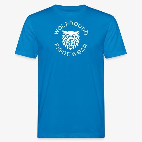 logo round w - Men's Organic T-Shirt
