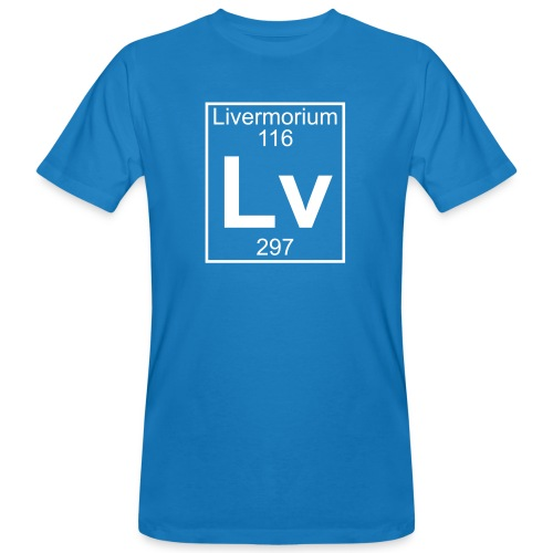 Livermorium (Lv) (element 116) - Men's Organic T-Shirt