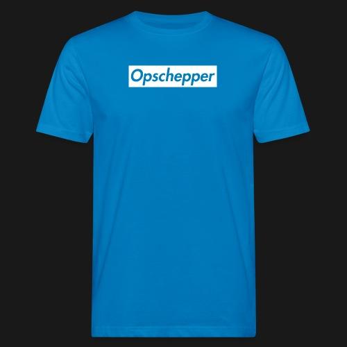 Opschepper Classic Wit - Mannen Bio-T-shirt