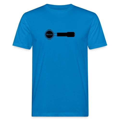 Siebträger Barista horiz - Männer Bio-T-Shirt