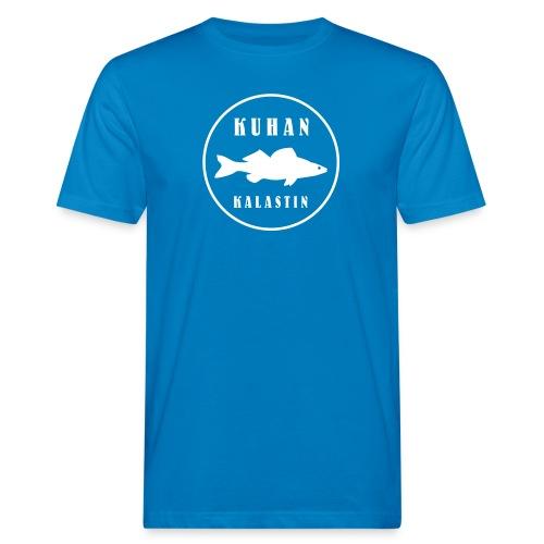 Kuhan kalastin - Miesten luonnonmukainen t-paita