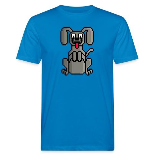 PerroPixelArt - Camiseta ecológica hombre
