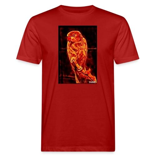 Bird in flames - Miesten luonnonmukainen t-paita