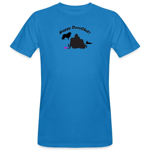 Happy Bright New - Männer Bio-T-Shirt