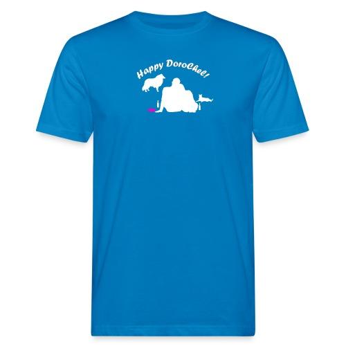 Happy Dark New - Männer Bio-T-Shirt