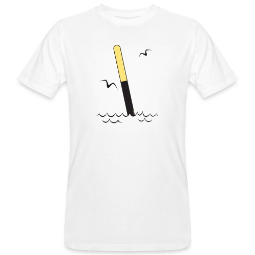 FP25 ETELÄVIITTA Merimerkit funprint24 net - Miesten luonnonmukainen t-paita