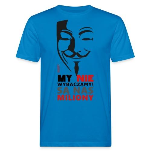 Są Nas MILIONY - kolejny motyw Akademia Wywiadu™ - Ekologiczna koszulka męska