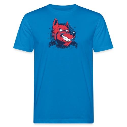 Wolf grin - Männer Bio-T-Shirt