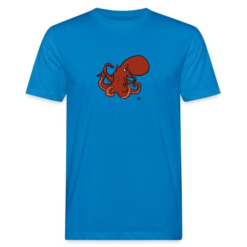 Giant Pacific Octopus - Økologisk T-skjorte for menn