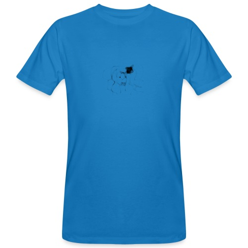la belleza abstracta - Camiseta ecológica hombre
