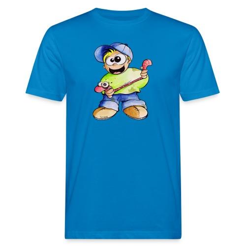 Elastizitätstest - Männer Bio-T-Shirt