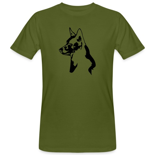 australiankelpie - Miesten luonnonmukainen t-paita
