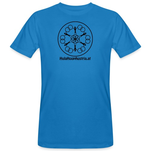 Hula Hoop Austria Logo Black - Männer Bio-T-Shirt