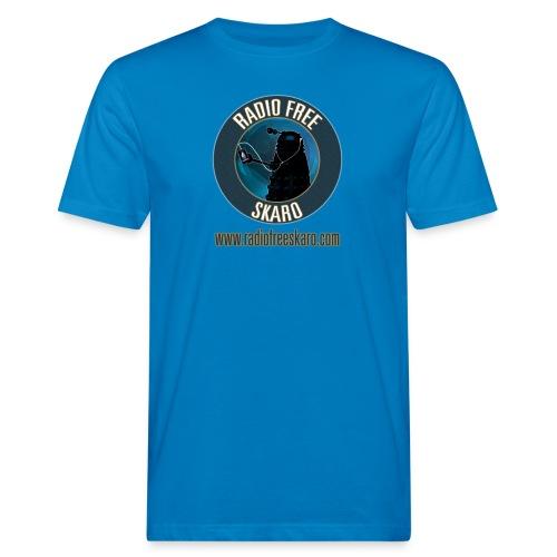 Radio Free Skaro Logo 2011 navy png - Men's Organic T-Shirt