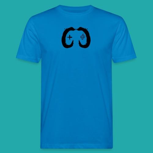 Crowd Control Controller Logo Black Large - Men's Organic T-Shirt