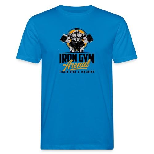 Logo Retro Black - Camiseta ecológica hombre
