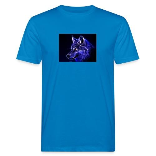 jeff wolf - Økologisk T-skjorte for menn