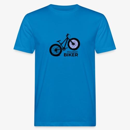 Mountain Biker - Männer Bio-T-Shirt