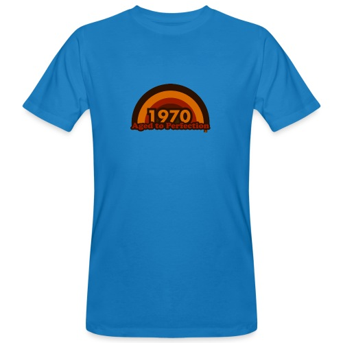 1970 aged to perfection 70tees - Männer Bio-T-Shirt