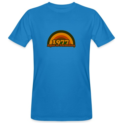 1977 aged to perfection cpr 70tees - Männer Bio-T-Shirt