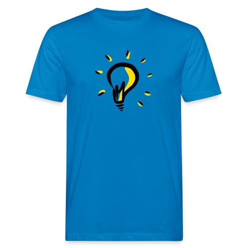 Geistesblitz - Männer Bio-T-Shirt