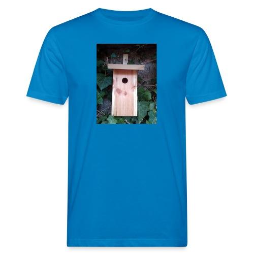 Der Nistkasten - Luxus für den Garten-Vogel - Männer Bio-T-Shirt