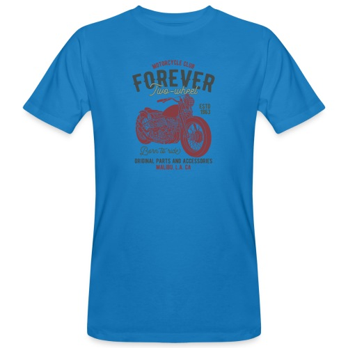 Motorradclub für immer - Männer Bio-T-Shirt