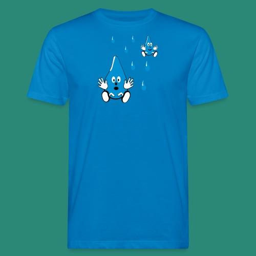 Tropfen - Männer Bio-T-Shirt