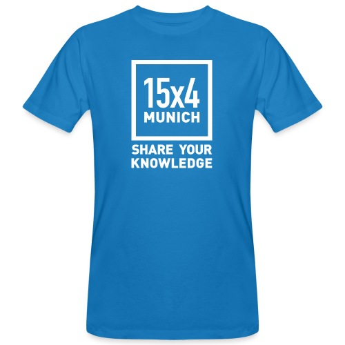 Share your knowledge - Männer Bio-T-Shirt