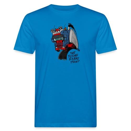 The flying skane man - Mannen Bio-T-shirt