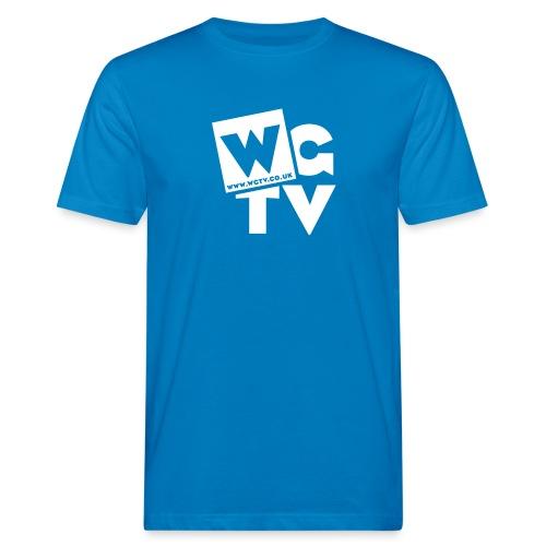 Logo_White_Large - Men's Organic T-Shirt