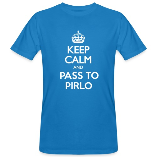 Keep Calm Blanc - T-shirt bio Homme