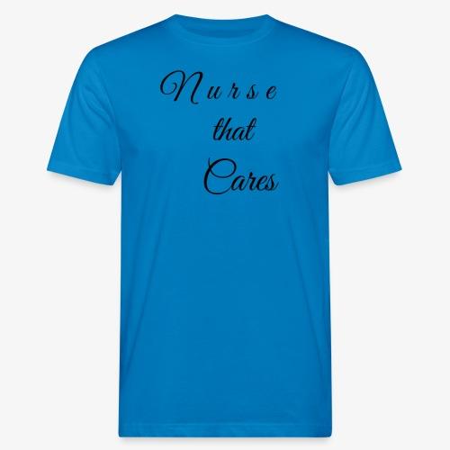 Nurse that Cares - Miesten luonnonmukainen t-paita