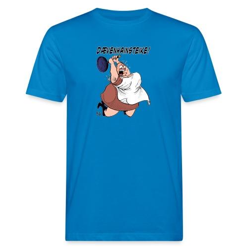 Dævenhainsteike (Farge) - Økologisk T-skjorte for menn
