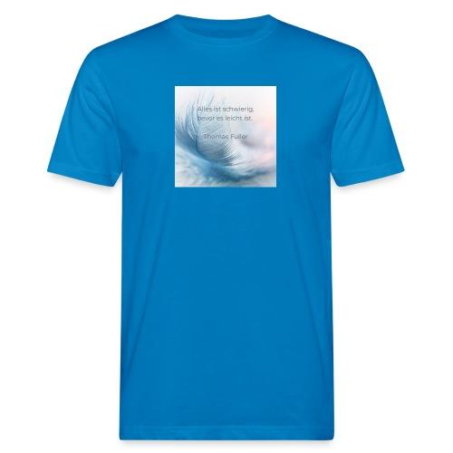 Leicht - Männer Bio-T-Shirt