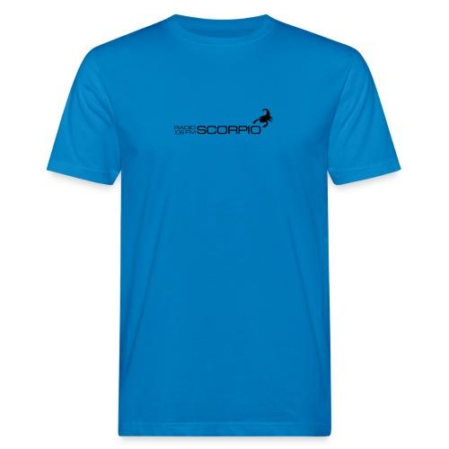 scorpio logo - Mannen Bio-T-shirt