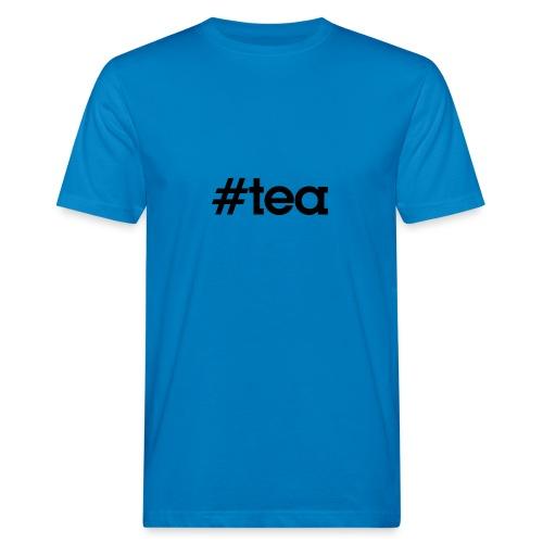 Hashtag Tea - noir - T-shirt bio Homme