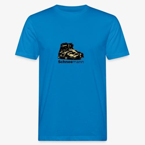 Schneemann - Männer Bio-T-Shirt
