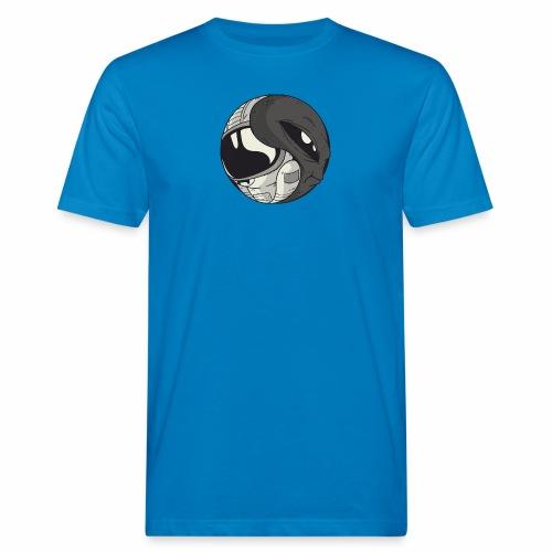 Yin Yang space Alien und Astronaut - Männer Bio-T-Shirt