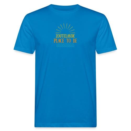 Zoutelande - Place To Be - Männer Bio-T-Shirt