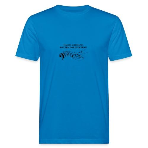 Hallo allemaal! - Mannen Bio-T-shirt