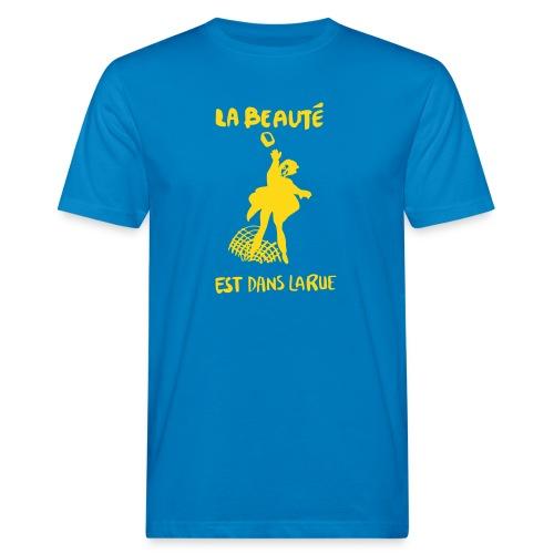la_beaut├®_est_dans_la_ru - Ekologisk T-shirt herr