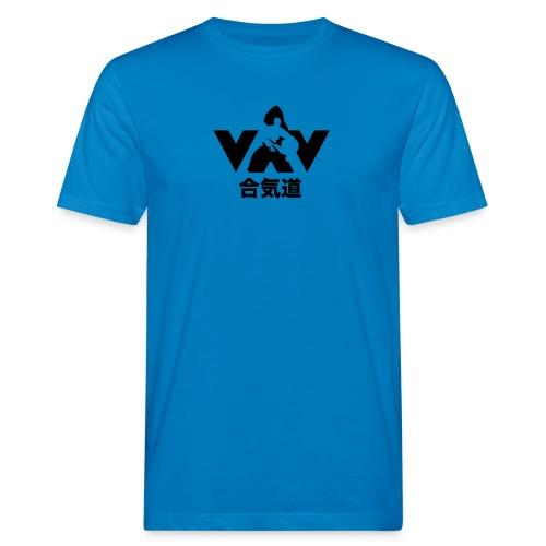 aikido zwart - Mannen Bio-T-shirt