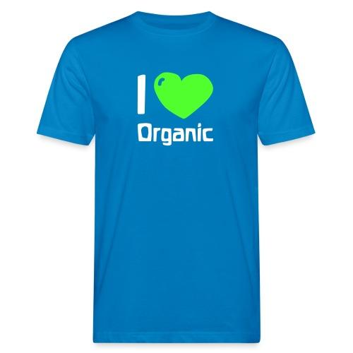 I love Organic - Männer Bio-T-Shirt